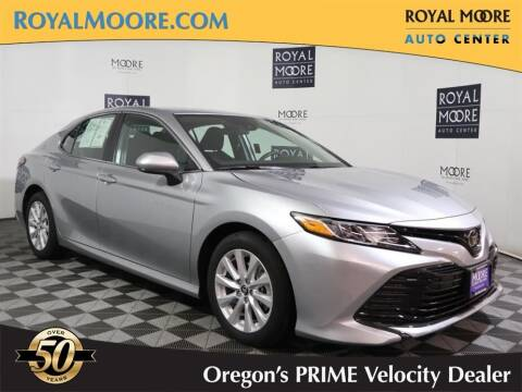 2020 Toyota Camry for sale at Royal Moore Custom Finance in Hillsboro OR