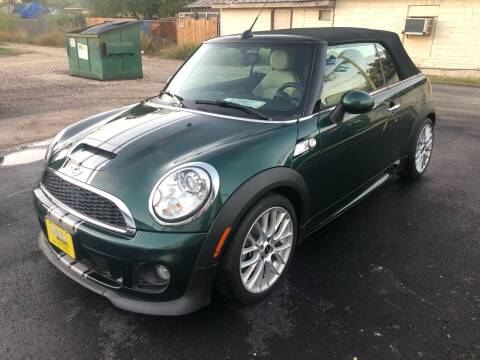 2013 MINI Convertible for sale at Rock Motors LLC in Victoria TX