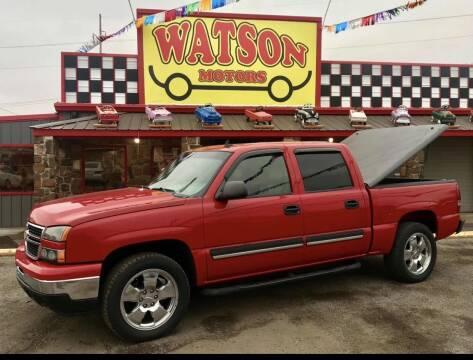 2006 Chevrolet Silverado 1500 for sale at Watson Motors in Poteau OK