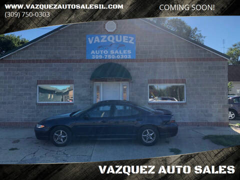 2001 Pontiac Grand Prix for sale at VAZQUEZ AUTO SALES in Bloomington IL