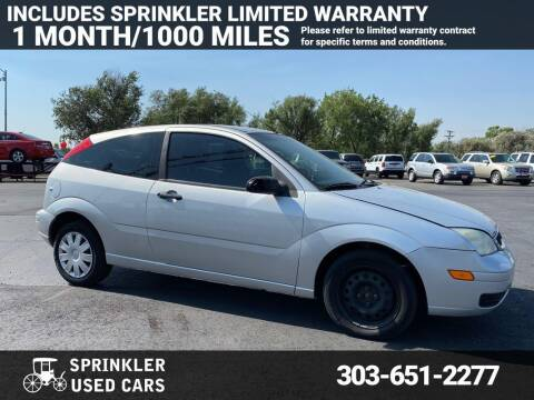 2007 Ford Focus for sale at Sprinkler Used Cars in Longmont CO