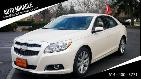2013 Chevrolet Malibu for sale at Auto Miracle in Columbus OH