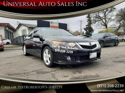 2009 Acura TSX for sale at Universal Auto Sales Inc in Salem OR