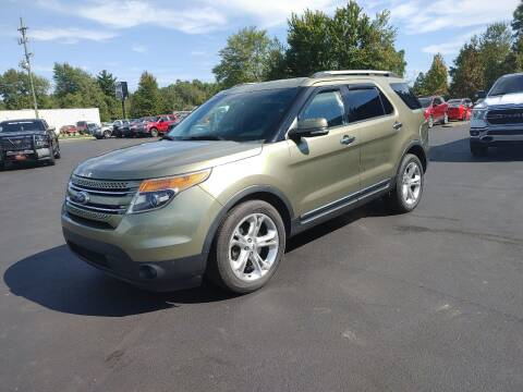 2013 Ford Explorer for sale at Cruisin' Auto Sales in Madison IN