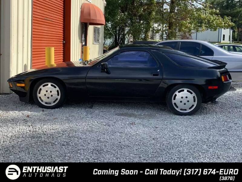 1986 Porsche 928 for sale at Enthusiast Autohaus in Sheridan IN