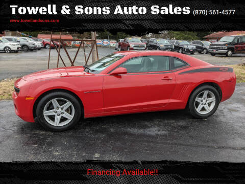 2010 Chevrolet Camaro for sale at Towell & Sons Auto Sales in Manila AR
