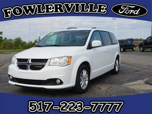 2020 Dodge Grand Caravan for sale at FOWLERVILLE FORD in Fowlerville MI