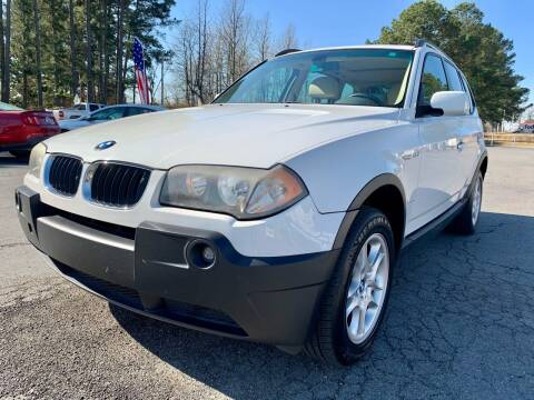 2004 BMW X3 for sale at Airbase Auto Sales in Cabot AR