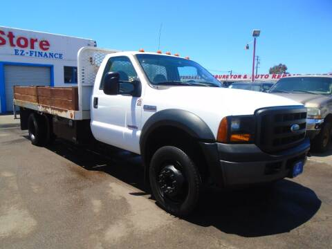 2007 Ford F-550 Super Duty for sale at The Fine Auto Store in Imperial Beach CA
