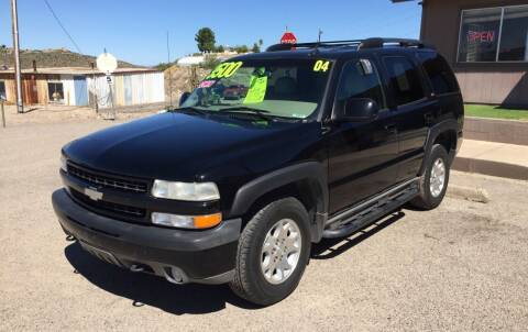 2004 Chevrolet Tahoe for sale at Hilltop Motors in Globe AZ