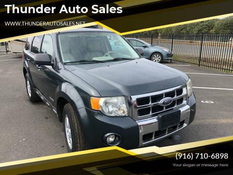2008 Ford Escape for sale at Thunder Auto Sales in Sacramento CA