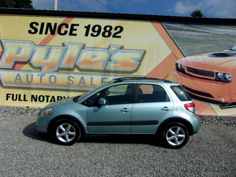 2009 Suzuki SX4 Crossover for sale at Pyles Auto Sales in Kittanning PA