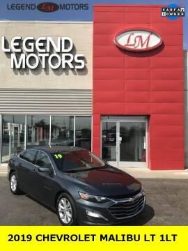 2019 Chevrolet Malibu for sale at Legend Motors of Ferndale in Ferndale MI