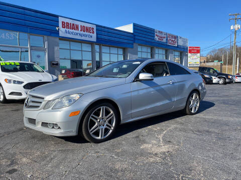 2010 Mercedes-Benz E-Class for sale at Brian Jones Motorsports Inc in Danville VA