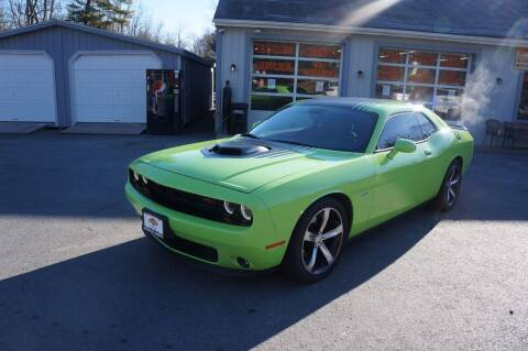 2015 Dodge Challenger for sale at Autos By Joseph Inc in Highland NY