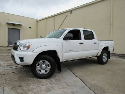 2015 Toyota Tacoma for sale at Easy Deal Auto Brokers in Hollywood FL