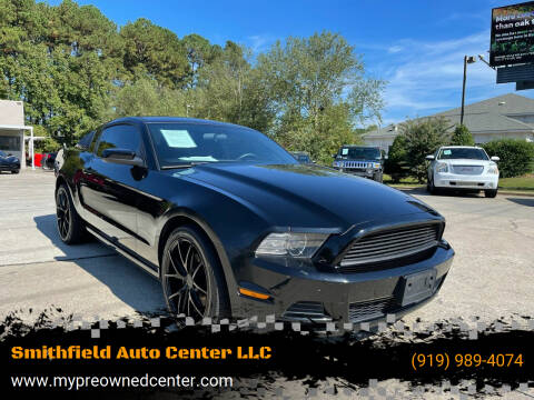 2013 Ford Mustang for sale at Smithfield Auto Center LLC in Smithfield NC