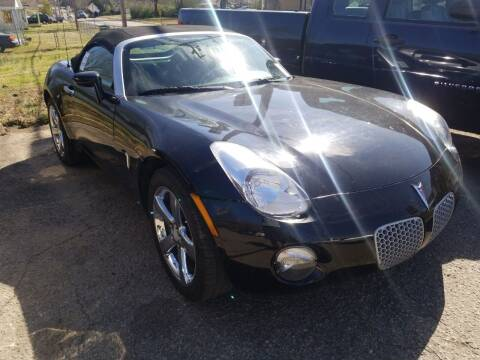 2008 Pontiac Solstice for sale at Shelton & Son Auto Sales L.L.C in Dover AR