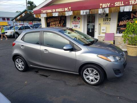 2013 Mazda MAZDA2 for sale at ANYTHING ON WHEELS INC in Deland FL