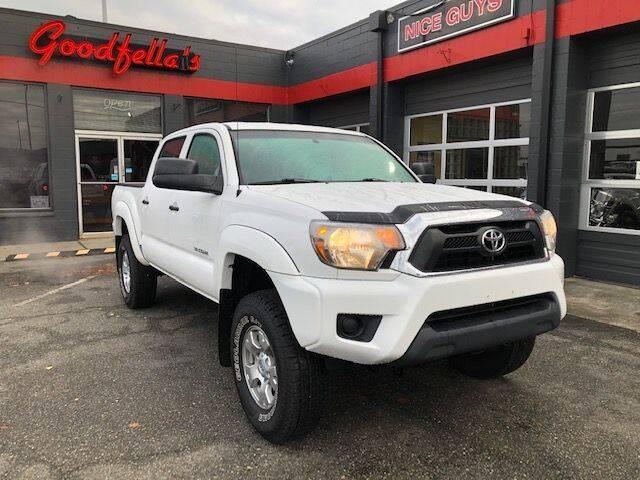 2015 Toyota Tacoma for sale at Goodfella's  Motor Company in Tacoma WA
