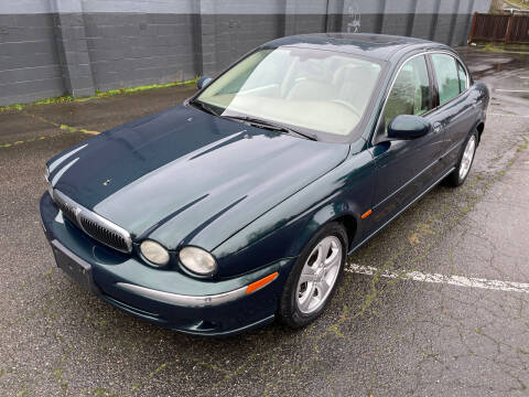 2002 Jaguar X-Type for sale at APX Auto Brokers in Lynnwood WA