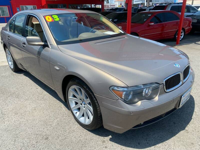 2003 BMW 7 Series for sale at North County Auto in Oceanside CA