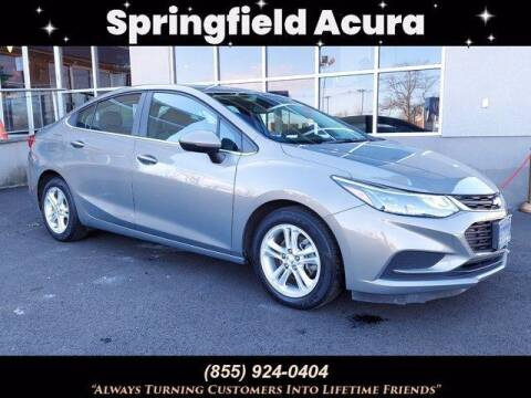 2017 Chevrolet Cruze for sale at SPRINGFIELD ACURA in Springfield NJ
