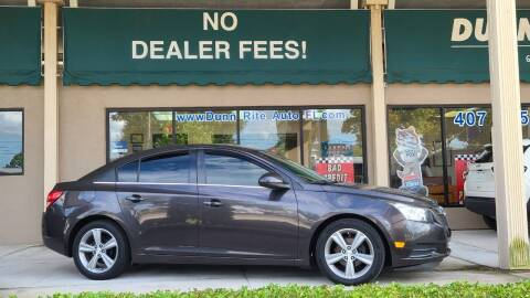 2014 Chevrolet Cruze for sale at Dunn-Rite Auto Group in Longwood FL
