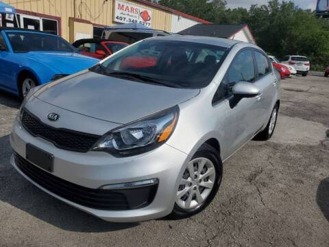 2016 Kia Rio for sale at Mars auto trade llc in Kissimmee FL