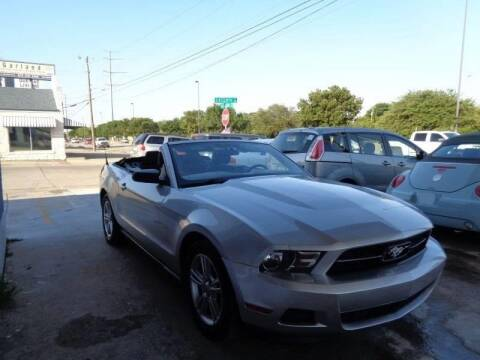 2012 Ford Mustang for sale at Bad Credit Call Fadi in Dallas TX