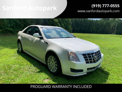 2012 Cadillac CTS for sale at Sanford Autopark in Sanford NC