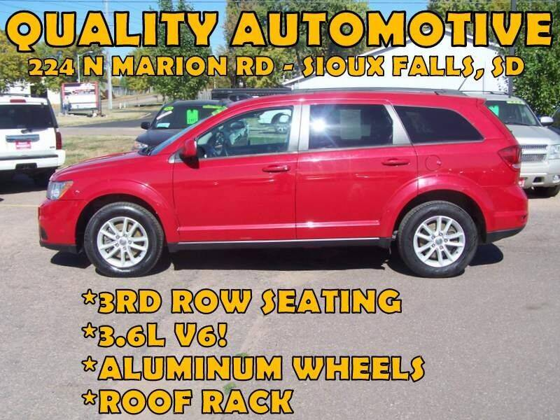 2016 Dodge Journey for sale at Quality Automotive in Sioux Falls SD