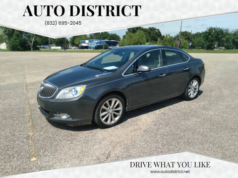 2012 Buick Verano for sale at Auto District in Baytown TX