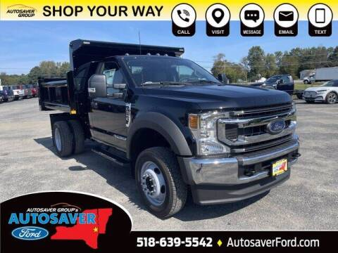 2022 Ford F-550 Super Duty for sale at Autosaver Ford in Comstock NY