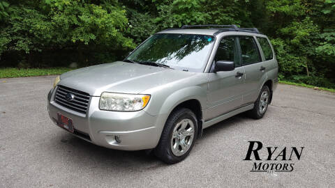 2007 Subaru Forester for sale at Ryan Motors LLC in Warsaw IN
