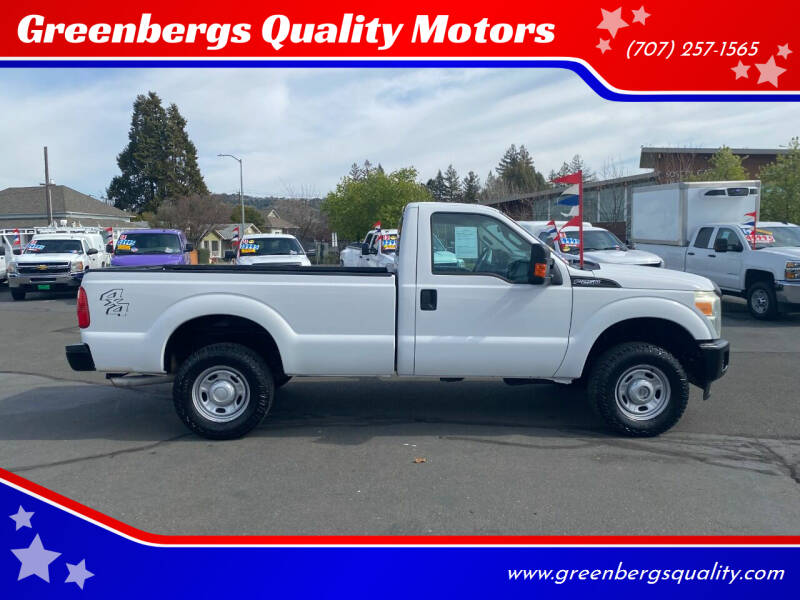 2015 Ford F-250 Super Duty for sale at Greenbergs Quality Motors in Napa CA