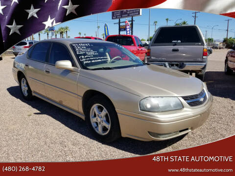 2005 Chevrolet Impala for sale at 48TH STATE AUTOMOTIVE in Mesa AZ