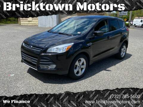 2013 Ford Escape for sale at Bricktown Motors in Brick NJ
