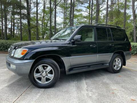 2006 Lexus LX 470 for sale at Selective Imports in Woodstock GA