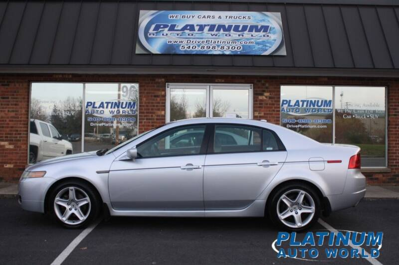 2004 Acura TL for sale at Platinum Auto World in Fredericksburg VA