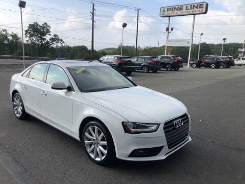 2013 Audi A4 for sale at Pine Line Auto in Olyphant PA