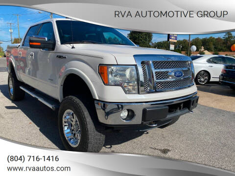 2011 Ford F-150 for sale at RVA Automotive Group in North Chesterfield VA