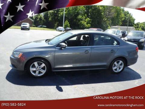 2013 Volkswagen Jetta for sale at Carolina Motors at the Rock in Rockingham NC