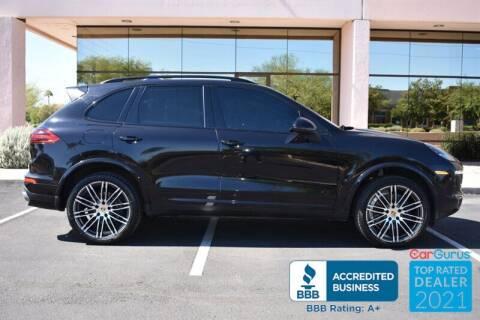 2017 Porsche Cayenne for sale at GOLDIES MOTORS in Phoenix AZ
