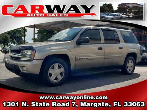 2003 Chevrolet TrailBlazer for sale at CARWAY Auto Sales in Margate FL