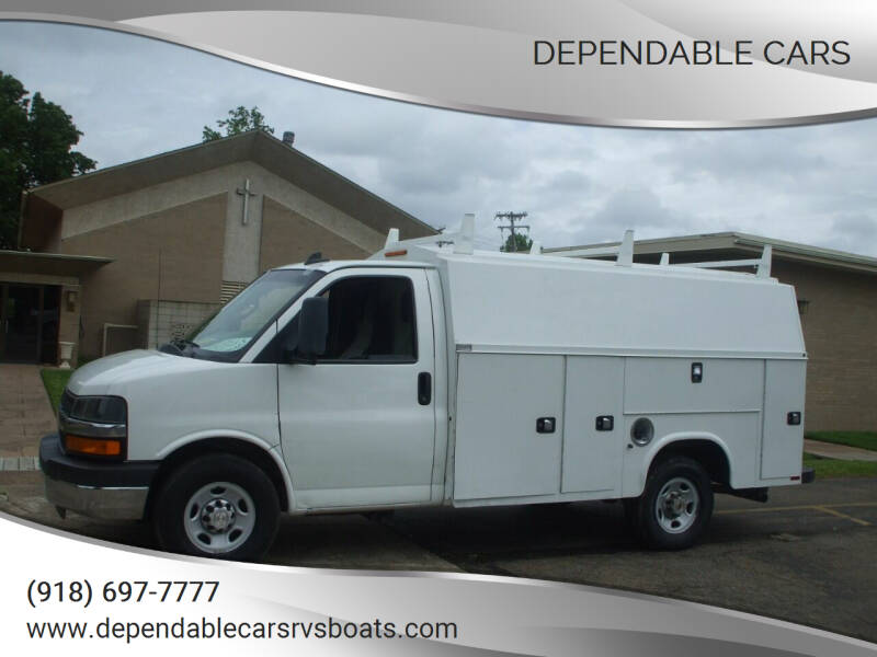 2016 Chevrolet Express Cutaway for sale at DEPENDABLE CARS in Mannford OK