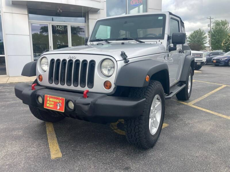 2008 Jeep Wrangler for sale at RABIDEAU'S AUTO MART in Green Bay WI