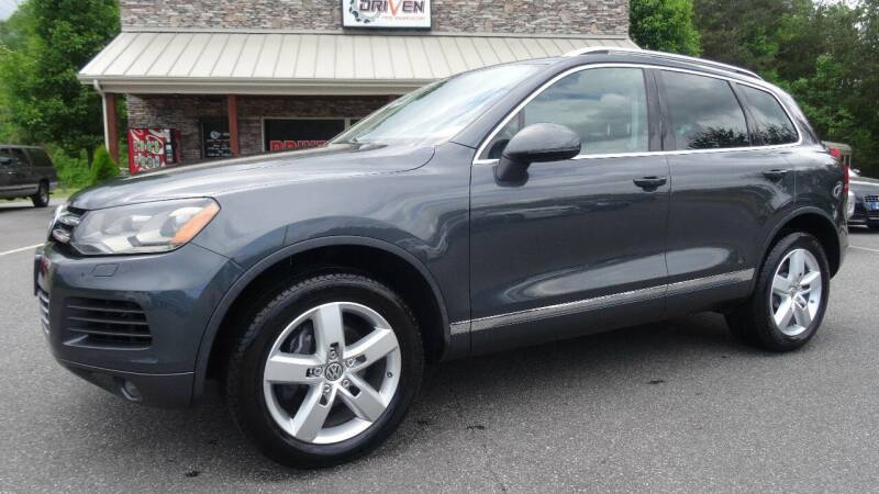 2013 Volkswagen Touareg for sale at Driven Pre-Owned in Lenoir NC