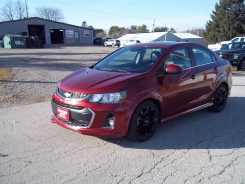 2017 Chevrolet Sonic for sale at SHULLSBURG AUTO in Shullsburg WI