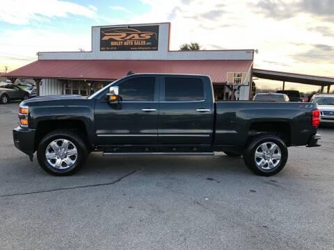 2018 Chevrolet Silverado 2500HD for sale at Ridley Auto Sales, Inc. in White Pine TN